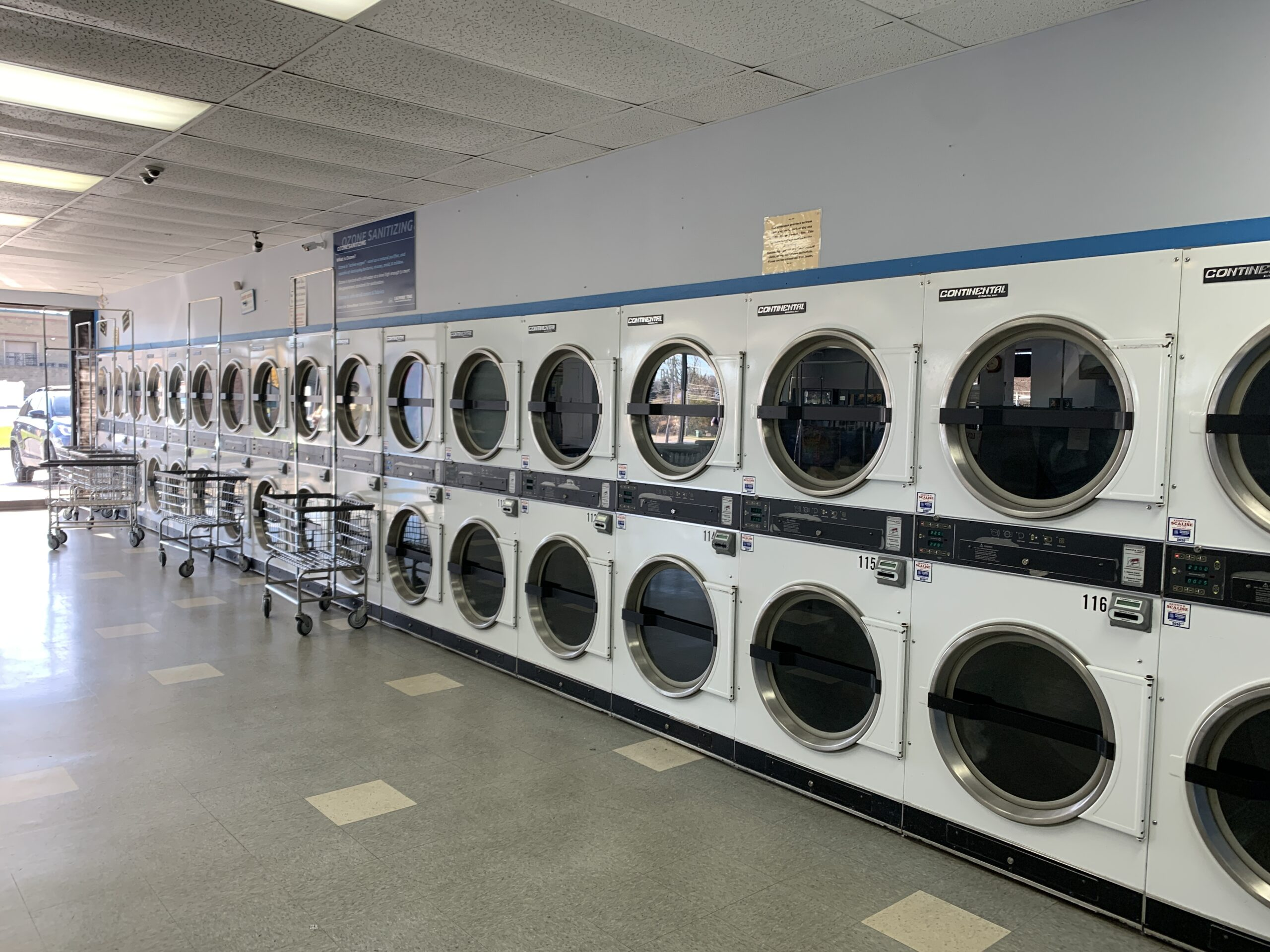 laundry time stow dryers