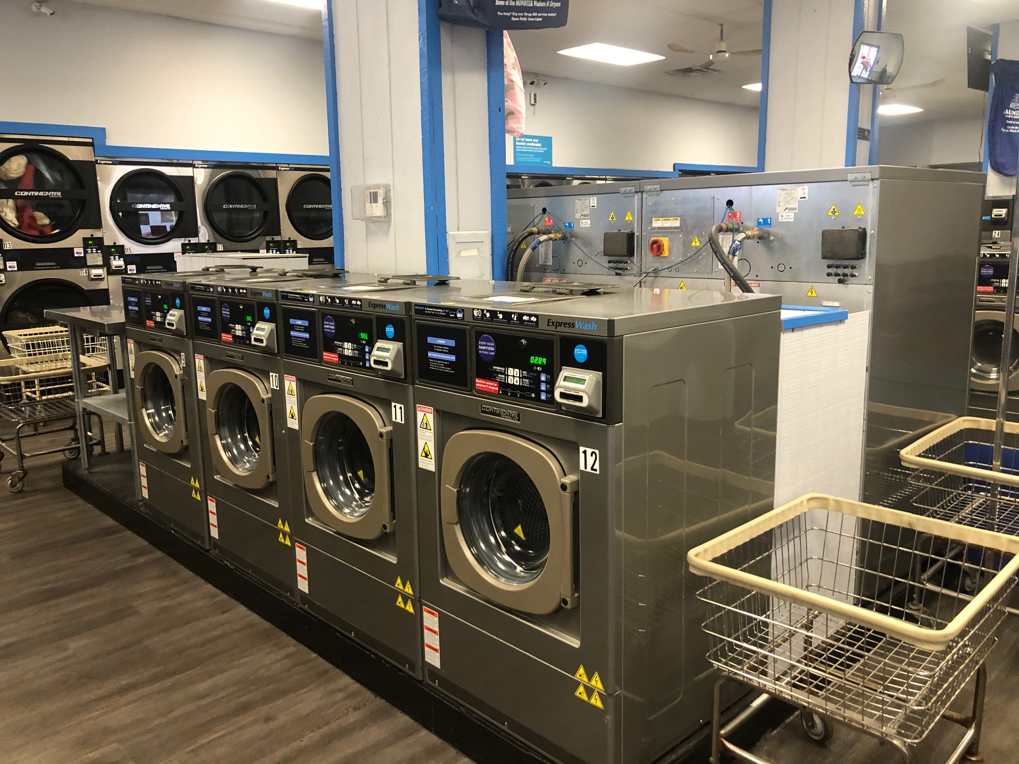 Small 2-Load Commercial Washer