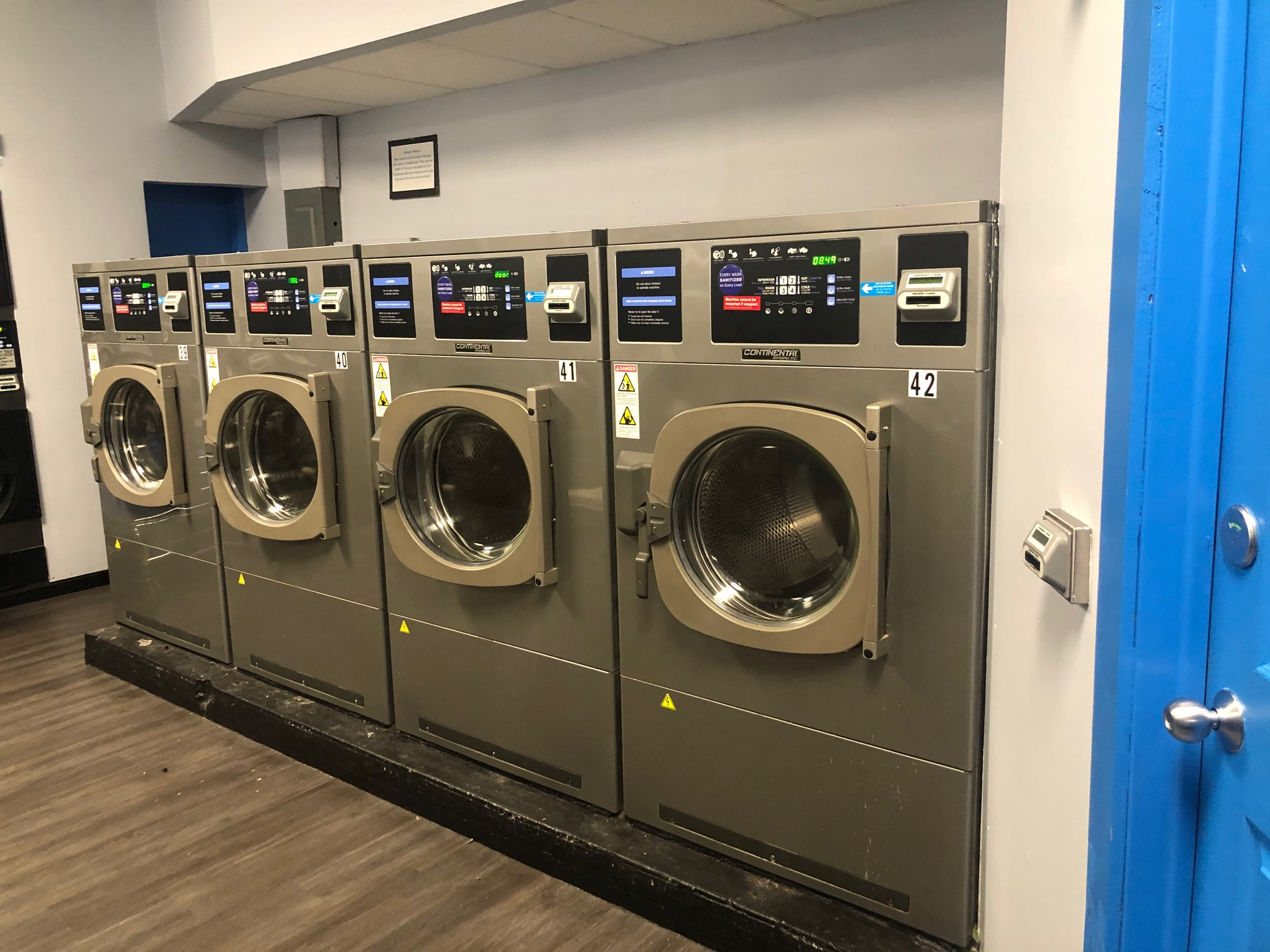 70lb. or 7-load washers at laundry time barberton