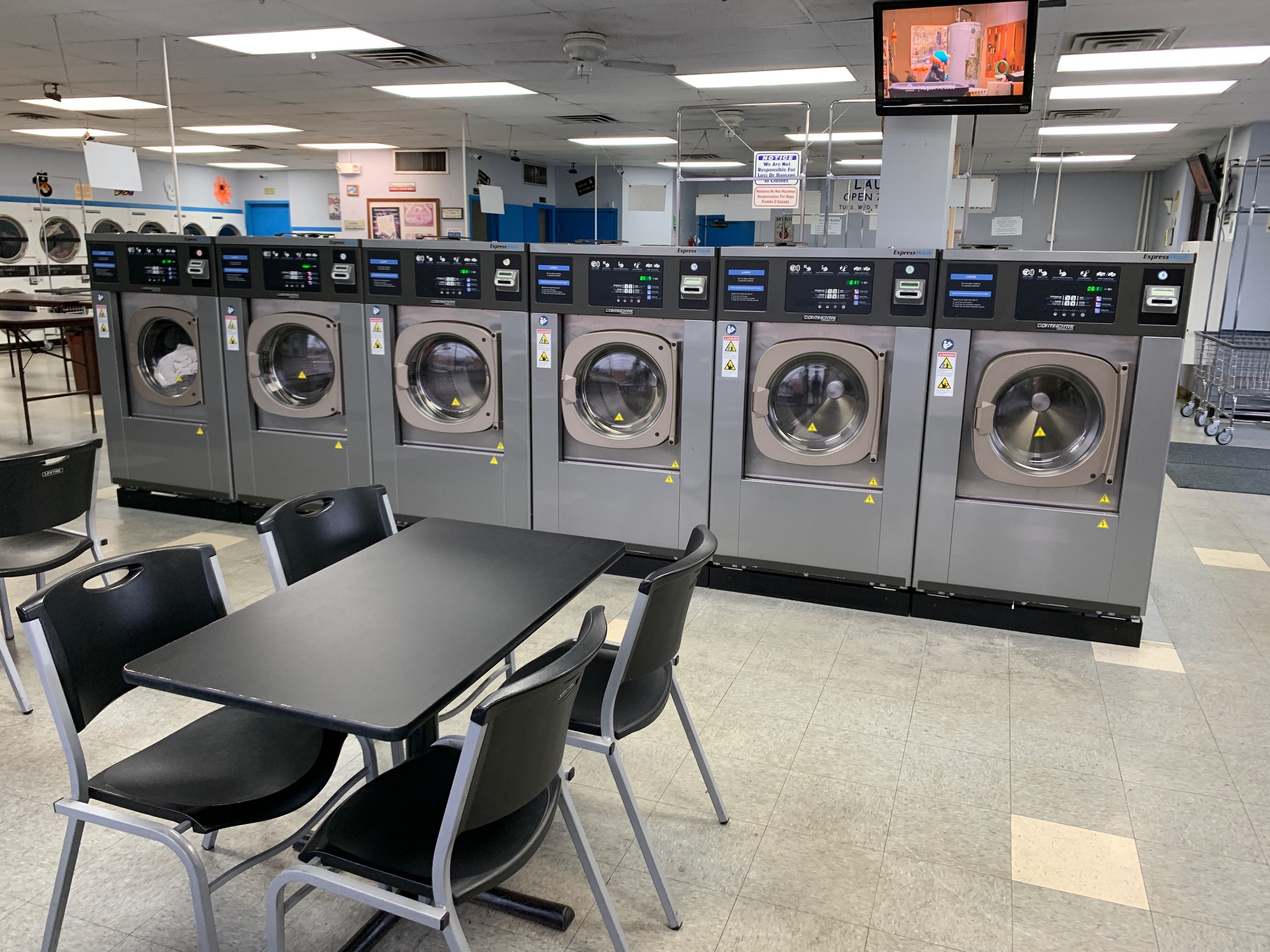 Laundry Time Stow - High Spin Speed Commercial Washers